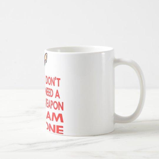 Karate, MMA, I AM A Weapon Coffee Mug