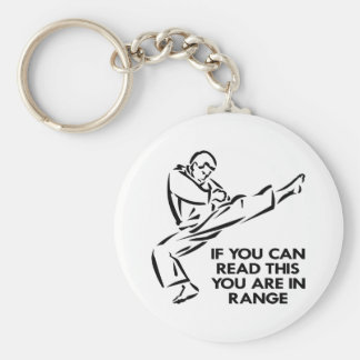 Karate, MMA, You ARE In Range Keychain