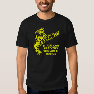 Karate, MMA, You ARE In Range T Shirts