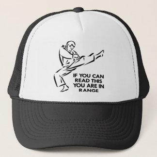 Karate, MMA, You ARE In Range Trucker Hat