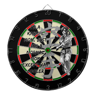 Karate Mom Dartboards