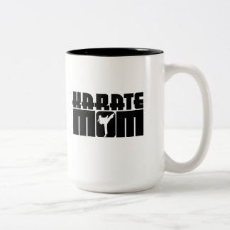 Karate Mom Coffee Mugs