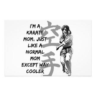 Karate Mom Stationery