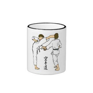 Karate Ringer Coffee Mug