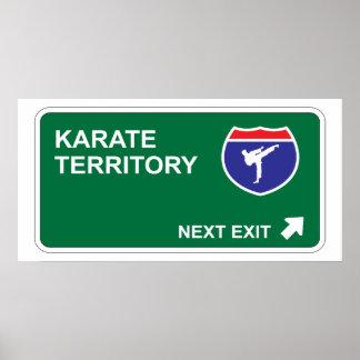 Karate Next Exit Poster