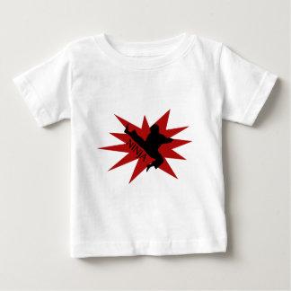 Karate Ninja Baby T-Shirt