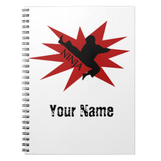 Karate Ninja Notebook