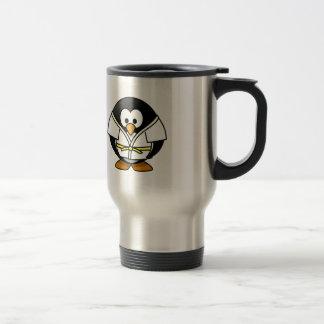Karate Penguin Coffee Mug