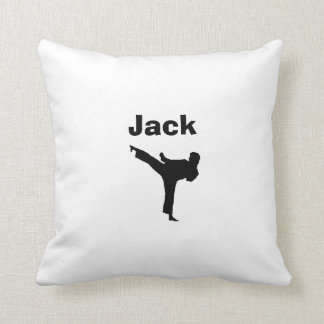 Karate Personalized Pillow