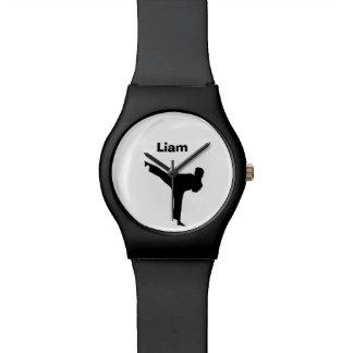 Karate Personalized Watch