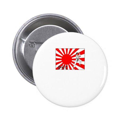 Karate Pin Redondo 5 Cm