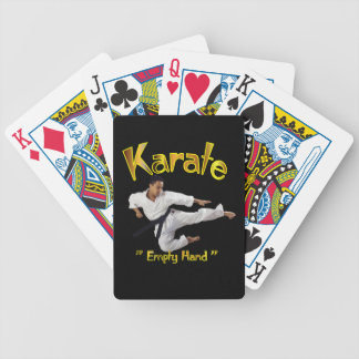 Karate PLaying Cards