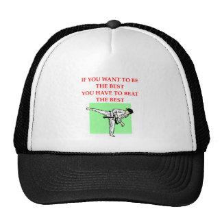 karate.png trucker hat