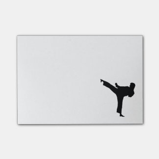 Karate Post-it Notes