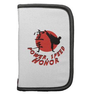 Karate Power, Speed, Honor Planners