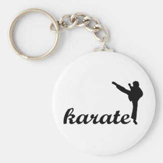 Karate Products! Basic Round Button Keychain