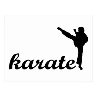 Karate Products! Postcard
