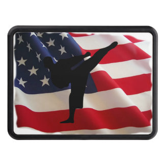 Karate Proud Tow Hitch Cover