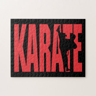 Karate Rompecabezas