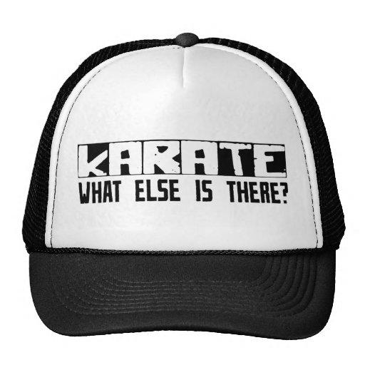 ¿Karate qué más está allí? Gorros Bordados