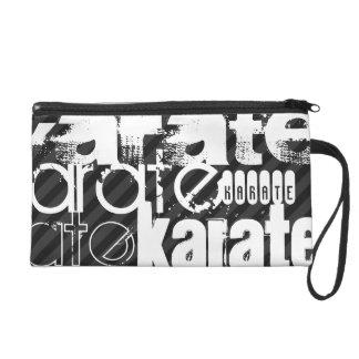 Karate; Rayas negras y gris oscuro