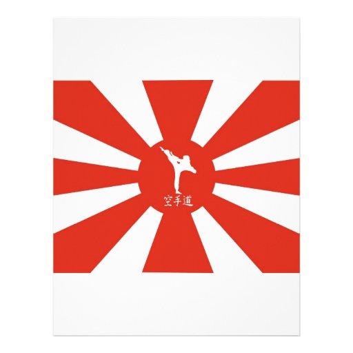Karate Rays Customized Letterhead