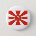 Karate Rays Pinback Button