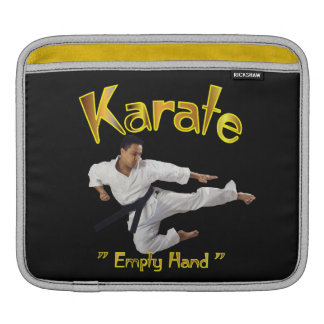 Karate Rickshaw Sleeve iPad Sleeve