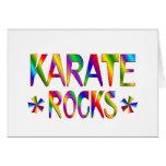 Karate Rocks Card