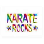Karate Rocks Postcard