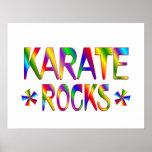 Karate Rocks Poster