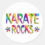 Karate Rocks Stickers