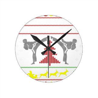 karate round clock