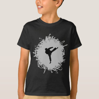 Karate Scribble Style T-Shirt