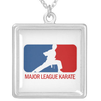 Karate Silver Plated Necklace