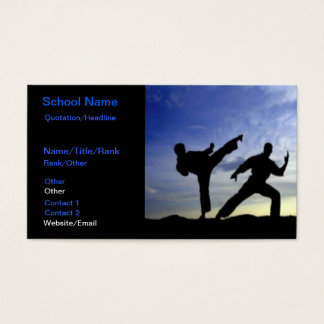 Karate Sky Business Card