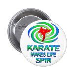 Karate Spins Button