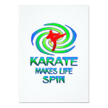 Karate Spins Personalized Announcements