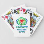 Karate Spins Poker Cards