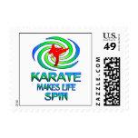 Karate Spins Postage
