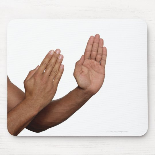 Karate Stance 2 Mouse Pad