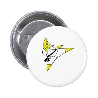 Karate star cafepress button