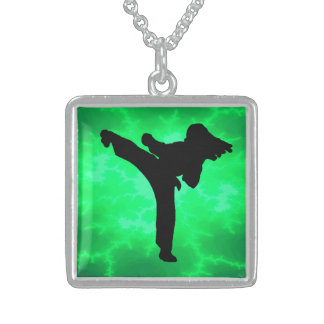 Karate Sterling Silver Necklace