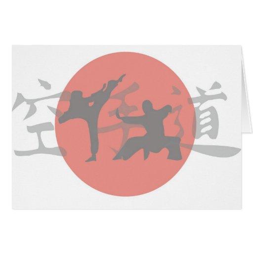 Karate Sun Cards
