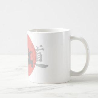 Karate Sun Coffee Mugs