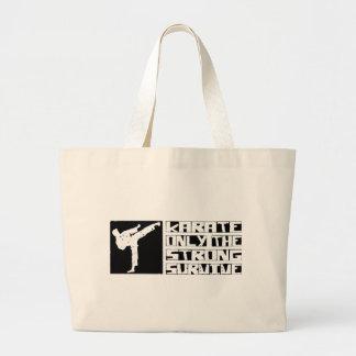 Karate Survive Tote Bags