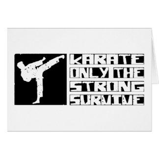 Karate Survive Card