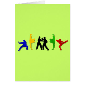 Karate Taekwando MMA Martial Arts Mens Athlete Card