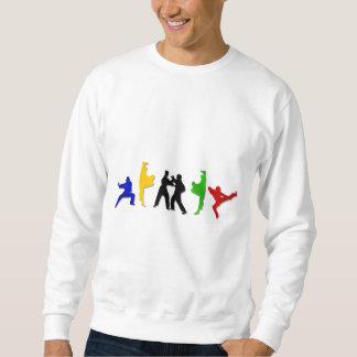 Karate Taekwando MMA Martial Arts Mens Athlete Sweatshirt
