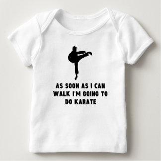 Karate tan pronto como pueda caminar playera